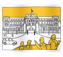 Sketches of London 'Buckingham Palace' Poster