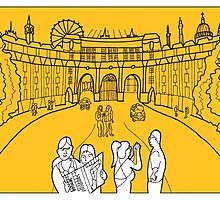 Sketches of London 'Admiralty Arch' by springwoodbooks