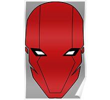 Red Hood Helmet Poster