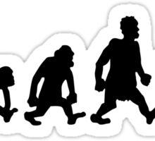 pétanque jeu de boules darwin evolution Sticker