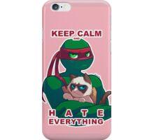 Grumpy Raph iPhone Case/Skin