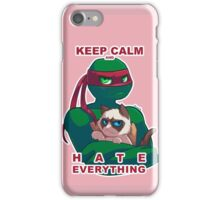 Grumpy Raph iPhone Case/Skin