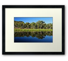 Dunn's Swamp, New South Wales. Framed Print