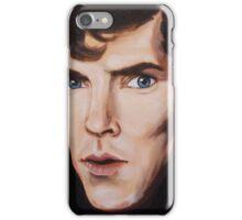 Benedict Cumberbatch by madam spooky iPhone Case/Skin