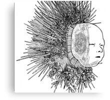 The Matrix head Canvas Print