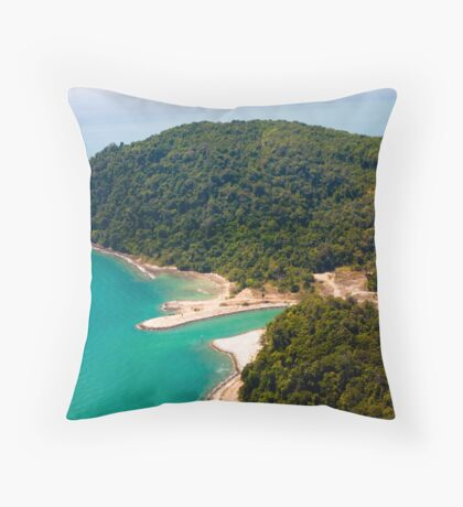 Postcard Picture Throw Pillow