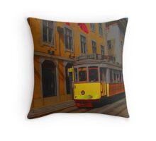 Tram #28 Throw Pillow
