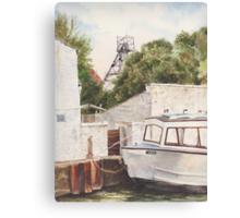 Bridgewater canal Canvas Print