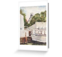 Bridgewater canal Greeting Card