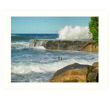 Bondi Beach, Sydney  Art Print