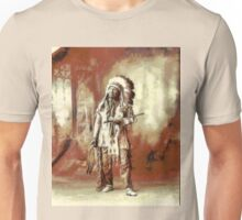 Chief American Horse, Sioux indian ca.1899 Unisex T-Shirt
