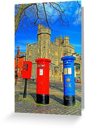 Post Box Corner - Windsor by Colin J Williams Photography