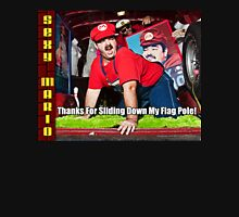 SexyMario MEME - Thanks For Sliding Down My Flag Pole 2 Unisex T-Shirt