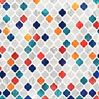Sea & Spice Moroccan Pattern by micklyn