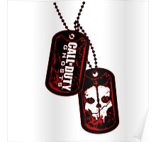 CoD Ghosts DogTag Poster