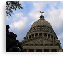 Mississippi State Capital Building Canvas Print