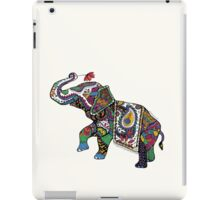 Elephant Zentangle iPad Case/Skin