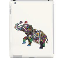 Elephant Zentangle iPad Case/Skin