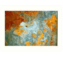 Rock Abstract Art Print