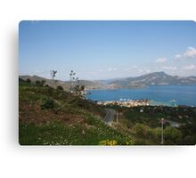 The Coast of the Bozburun Peninsula, Selimiye Canvas Print