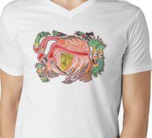 flamingo Mens V-Neck T-Shirt