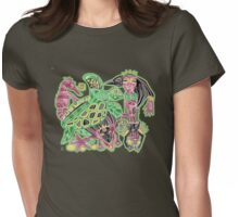 sacred honu Womens Fitted T-Shirt