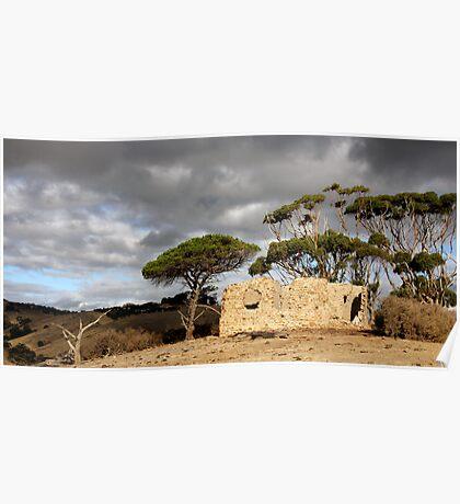 Derelict Farmhouse - Myponga, South Australia Poster