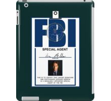 Fox Mulder ID Badge  iPad Case/Skin