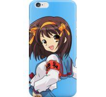 Haruhi Suzumiya iPhone Case/Skin