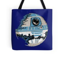 R2-D2 Death Star Tote Bag