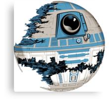R2-D2 Death Star Canvas Print