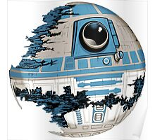 R2-D2 Death Star Poster
