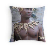 Golden Boy Throw Pillow