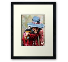The Witch Of Burley - New Forest Framed Print