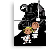 Star Wars Peanuts Canvas Print