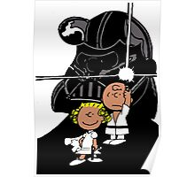 Star Wars Peanuts Poster