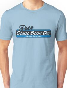 Free Comic Book Day Unisex T-Shirt