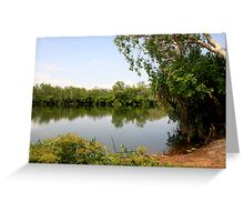 Yellow Water - Kakadu V Greeting Card