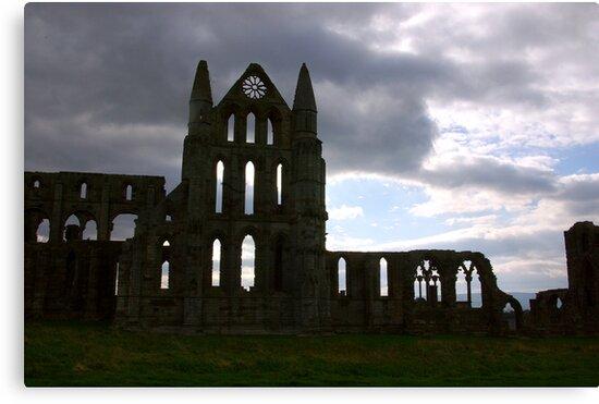 Whitby Abbey #1 by Trevor Kersley