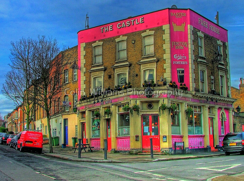 The Castle Pub London - HDR by Colin  Williams Photography