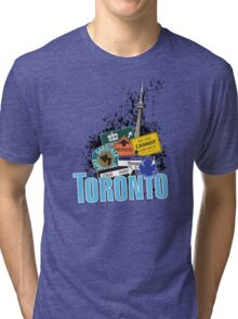 Big City Signs Tri-blend T-Shirt