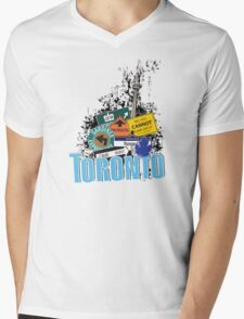 Big City Signs Mens V-Neck T-Shirt