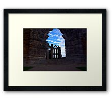 Whitby Abbey #3 Framed Print