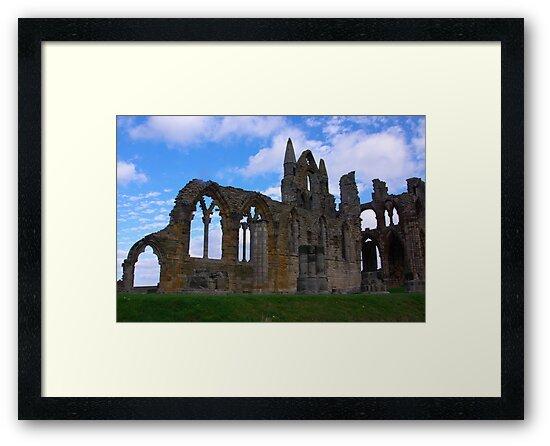 Whitby Abbey #4 by Trevor Kersley
