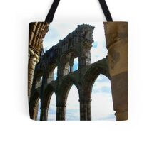 Whitby Abbey #5 Tote Bag