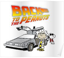 Back to the Future Peanuts Poster