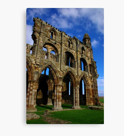 Whitby Abbey #6 Canvas Print