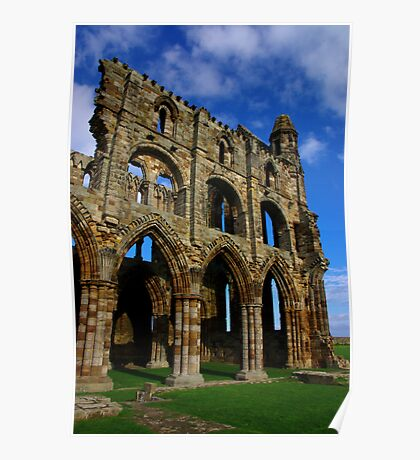Whitby Abbey #6 Poster