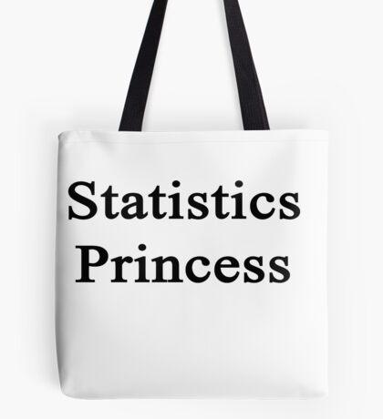 Statistics Princess  Tote Bag