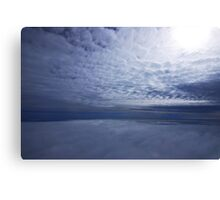 Between Two Layers Canvas Print